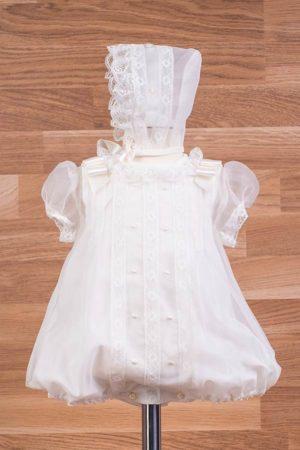 Pelele de bautizo en cristal – Ref. 39195