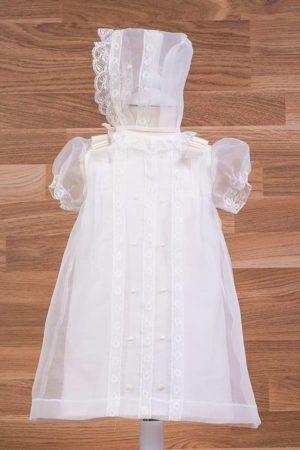Vestido bautizo cristal - Ref. 34195