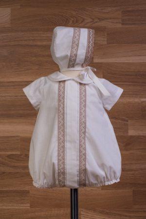 Pelele de bebé en lino