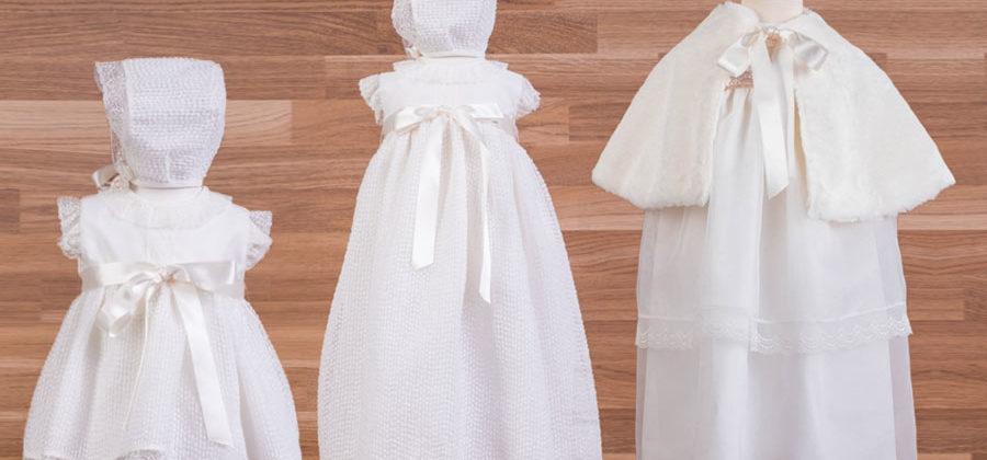 ropa de bautizo para bebé recién nacido
