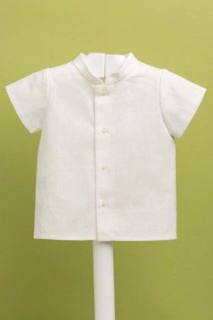 Camisa de niño en lino Ref - 22059