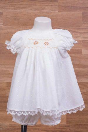 Jesusito de bebé en plumeti con punto inglés - Ref. 50519