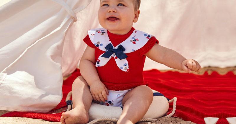 ropa de bebé de verano