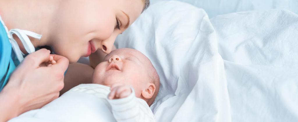 faldones de bebé